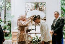 The Wedding of Putri & Vincent by Azila Villa