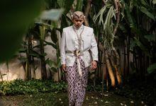 Vinsca & Ivan Wedding at Azila Villa by AKSA Creative