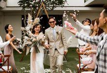 Vivi and Alex Legal Wedding Ceremony at The Iman Villa Bali by Happy Bali Wedding