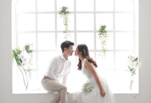 Korean Indoor Prewedding of Winny and Jun by VK photoworks