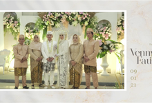 The Wedding of Vennny & Fauzi by acg stream