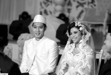 Monochrome Wedding by Creativeretina