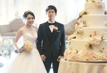 Pastel Wedding of Dony & Flora by Amor Cake
