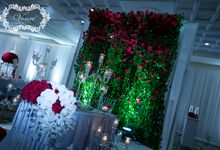 Red Rose Wedding by Vonre Events