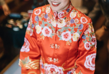 Chinese wedding Bride Christina by Vow bridal house