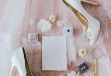 Styled Vow Renewal with a touch of Old World Romance by AF Atelier