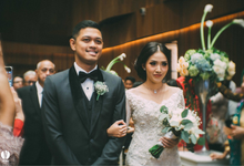 The wedding of Ghinar Panigoro & Amelia Raissa by Voyage Entertainment