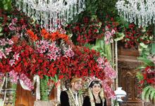 The wedding of Tantra & Raissa by Voyage Entertainment