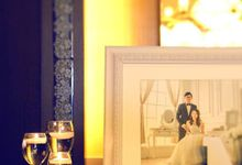 White & Elegant Wedding by La Couture Wedding