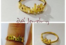 Name & Initial by DA Jewelry