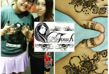 Henna Artwork Designing by Theiya Goddess Touch