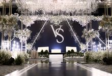 Vincent & Steffi Wedding by SYV Studio