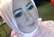 Makeup pesta pernikahan Keluarga Besar Ir. Raswari by VanityFame