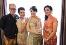 Custom Made Dress by elvira brides