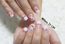 Flower Garden Nails by Nail It Up!