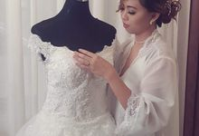 Bhok & Michi Wedding by Makeup by Stephanie Paras