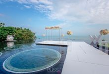 Over water wedding at W retreat koh samui by BLISS Events & Weddings Thailand