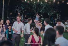 WEDDING OF NICHOLAS & JUDY AT CONRAD by LOVA BAND ENTERTAINMENT BALI