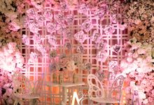 Pink Flowery by M2 decor