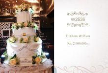 Wedding Cake Album A by Libra Cake