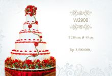 Wedding Cake Crystal by Libra Cake