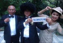 Wedding of Devie & Rick by Bali Photo Booth