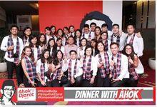 Acara Dinner With Ahok by Indigo Photobooth