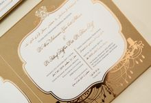 Wan & Ashraf by Meltiq Invitation