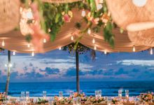 Classic elegant, romantic ceremony, combined with a playful, fresh, unique, Sicilian-vibed reception by The Wedding Bliss Thailand