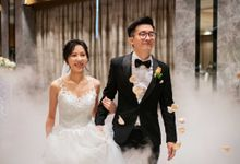 Hilton Wedding - Wang Xun & Lena by GrizzyPix Photography