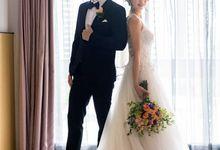 Hilton Wedding - Wang Xun & Lena by GrizzyPix Photography