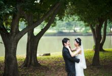 Wedding Day of Wanting and Alvin at Peony Jade at Kappel (Actual Day Photography) by oolphoto