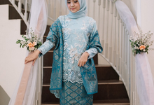 Baby Blue Themed Engagement by Warna Project