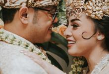 The Royal Wedding of Vicky & Lenny at Rumah Maroko by Warna Project