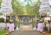 Waterpark Gazebo Wedding Venue by Legian Beach Hotel