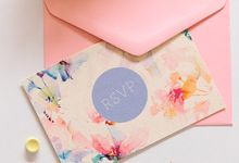 WATERWASHED FLORALS by IMPRINTABLES - Bespoke Paperie