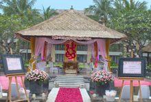 Wedding of Binti and Aakash by Conrad Bali
