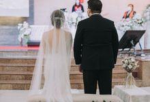 Holy Matrimony of Cynthia & Yustinus by Avinci wedding planner