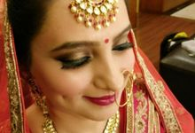 My brides by Anchal Kumar Makeup Artistry