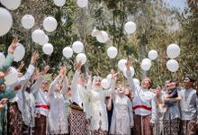 The Wedding Of Farah & Chandra At Cangkringan Village & Spa by Avinci wedding planner