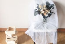 Dried Wedding Bouquet Premium-Luxury Large by Lavish Flower