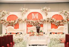 Wedding of Aldous & Michelle by Indonesia Convention Exhibition (ICE)
