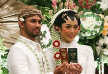 Wedding of Patria & Dinar by Indonesia Convention Exhibition (ICE)