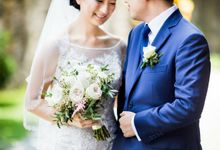 Harry&Adrienne Wedding.Natural & Korean Make Up by Marsia Yulia Signature. Natural and Korean Make Up Specialist.