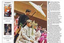 CARI WEDDING FEATURED ON HARIAN NASIONAL by CARI WEDDING ORGANIZER