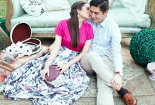 Michael & Sabrina Pre-Wedding Engagement by We Do It For Love Photography