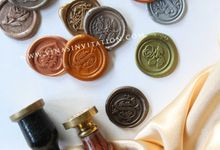 Wax seal in any colors by Vinas Invitation