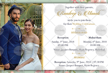 FLORAL THEME WEDDING INVITATION VIDEO  SAVE THE DATE INVITES by Happy Invites