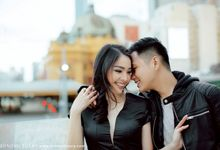 MELBOURNE PREWEDDING BY TED by Monopictura