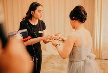 Dinner Reception of #BerKatNikah by ProjectDEA Wedding Planner